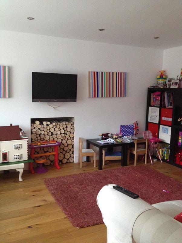Tv Snug Room Surbiton Surrey Ditton Interiors