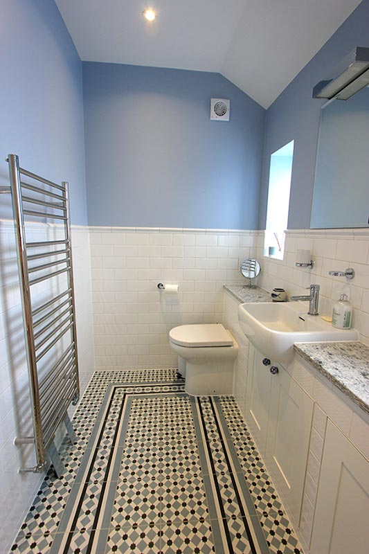 Modern Victorian Tiled Bathroom