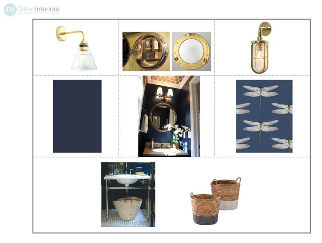 Cloakroom Concept Board