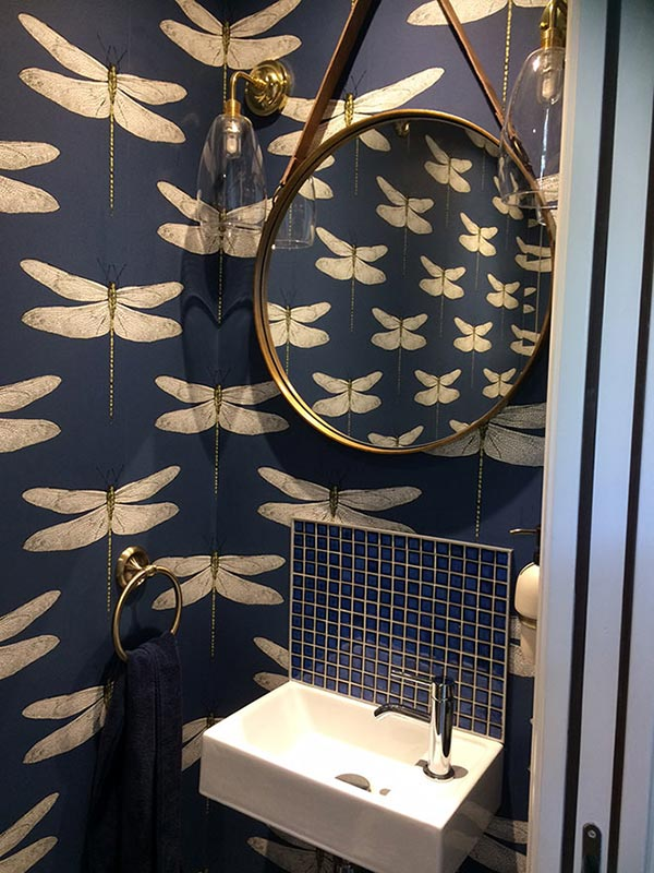 Contemporary Small Cloakroom