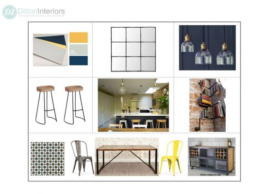Concept Board, Interior Design